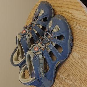 Merrell Chameleon II Web Leather Sandals size 8